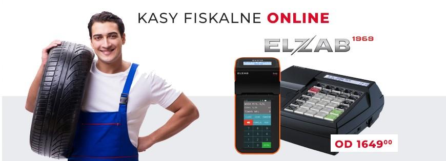 Kasy fiskalne Online dla Warszartatów Elzab mini lt online elzab k10
