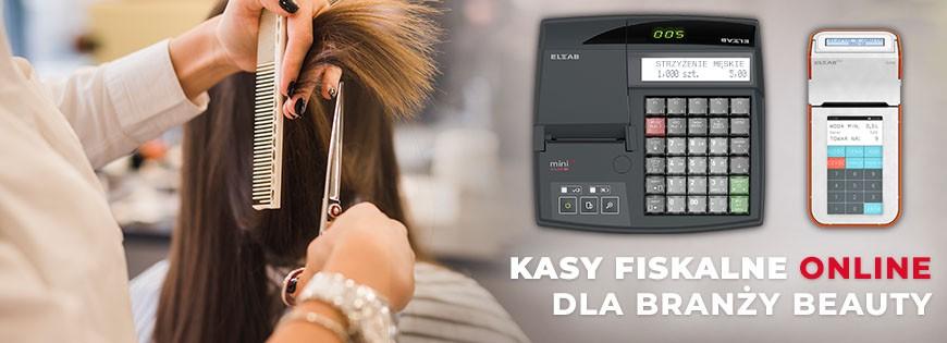 kasa fiskalna dla barbera fryzjera kosmetyczki elzab k10 elzab mini elzab mini lt farex pro300 datecs wp50